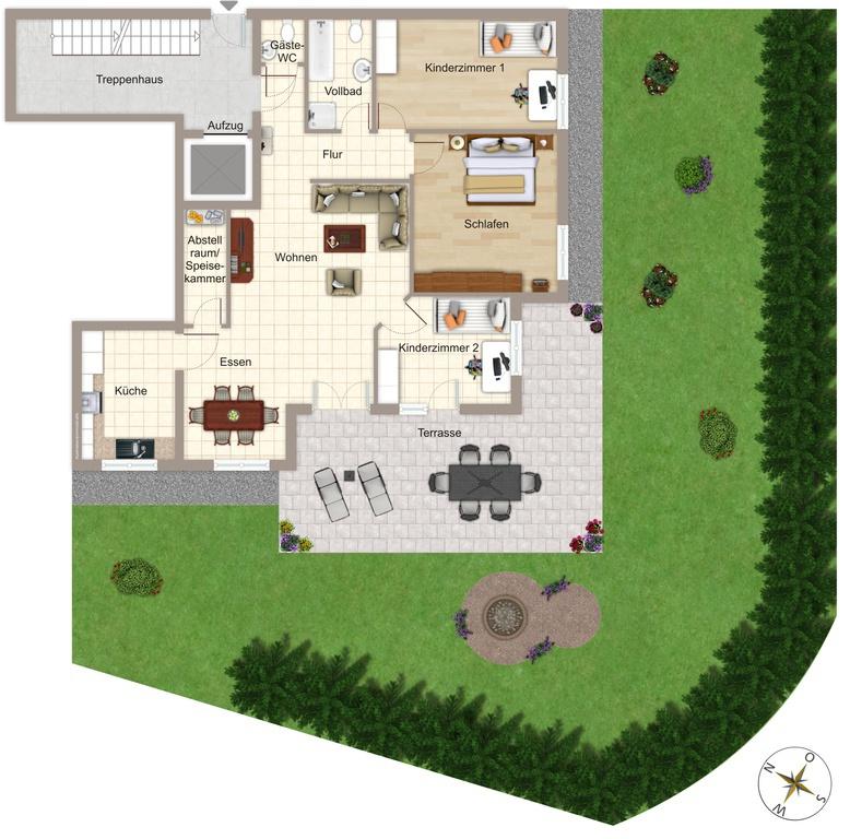 hausbau kassem stadtvilla bad rappenau. Black Bedroom Furniture Sets. Home Design Ideas